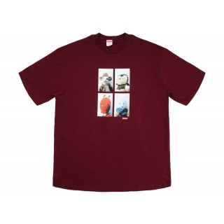 FW18 Supreme Mike Kelley AhhYouth! Tee Burgundy
