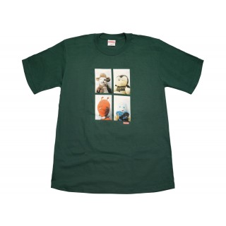 FW18 Supreme Mike Kelley AhhYouth! Tee Dark Green