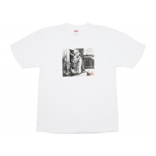 FW18 Supreme Mike Kelley Hiding From Indians Tee White