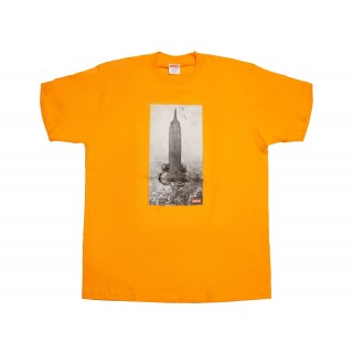 FW18 Supreme Mike Kelley The Empire State Building Tee Bright Orange