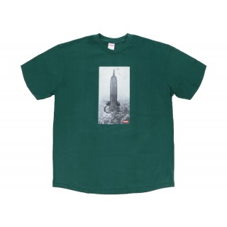 FW18 Supreme Mike Kelley The Empire State Building Tee Dark Green