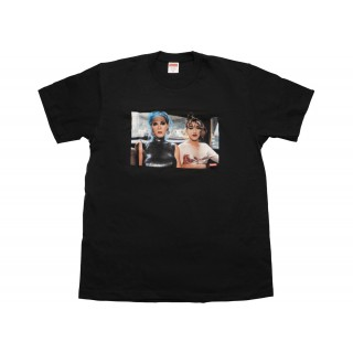 FW18 Supreme Nan Goldin Misty and Jimmy Paulette Tee Black