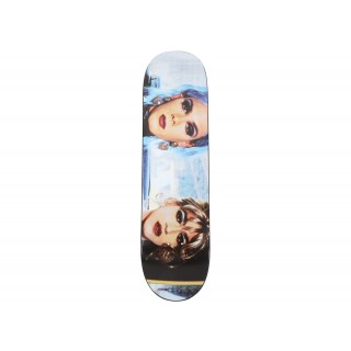 FW18 Supreme Nan Goldin Misty Paulette Skateboard Deck Multi