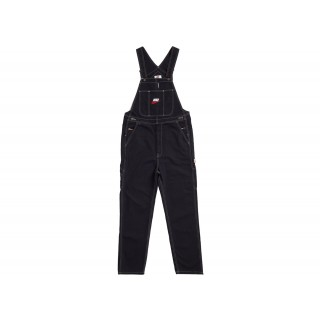 FW18 Supreme Nike Cotton Twill Overalls Black