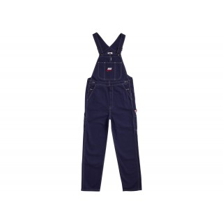 FW18 Supreme Nike Cotton Twill Overalls Navy