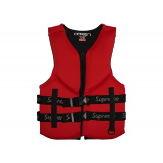 FW18 Supreme O'Brien Life Vest Red
