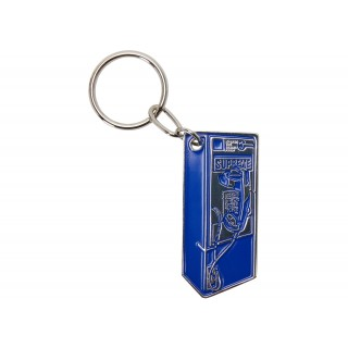 FW18 Supreme Payphone Keychain Blue
