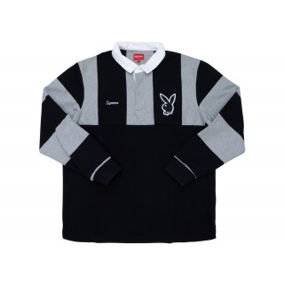 FW18 Supreme Playboy Rugby Black