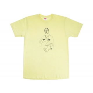 FW18 Supreme Prodigy Tee Pale Yellow