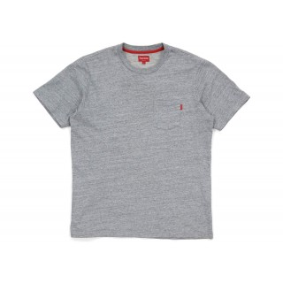 FW18 Supreme Pocket Tee (SS18) Heather Grey