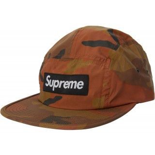 FW18 Supreme Reflective Camo Camp Cap Orange