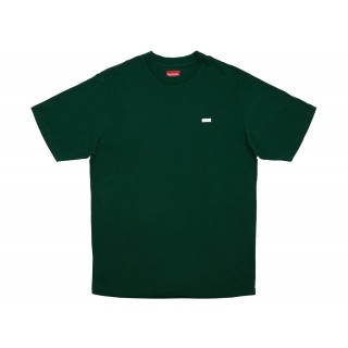 FW18 Supreme Reflective Small Box Tee Dark Green