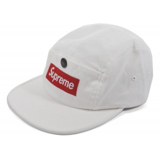FW18 Supreme Snap Button Pocket Camp Cap White