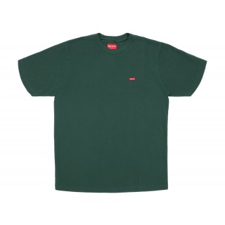 FW18 Supreme Small Box Pique Tee Dark Green
