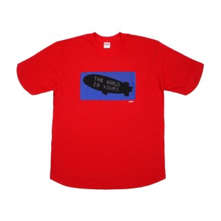 FW18 Supreme Scarface Blimp Tee Red