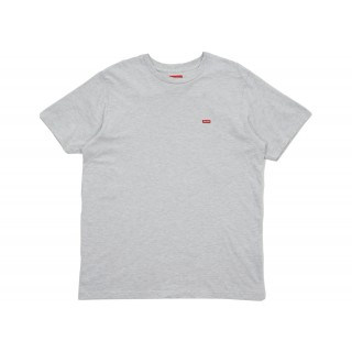 FW18 Supreme Small Box Tee (SS18) Heather Grey