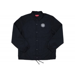 FW18 Supreme Spitfire Coaches Jacket Black