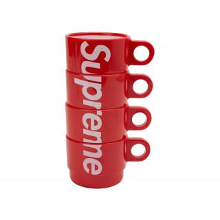 FW18 Supreme Stacking Cups (Set of 4) Red