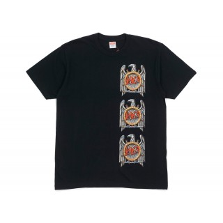 FW18 Supreme Slayer Eagle Tee Black