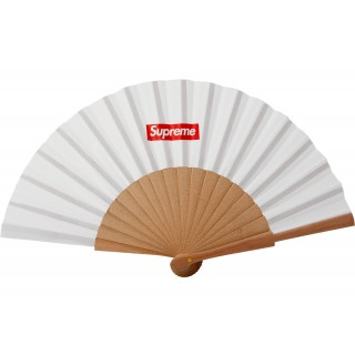 FW18 Supreme Sasquatchfabrix Folding Fan White