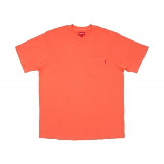 FW18 Supreme SS Pocket Tee (FW18) Coral