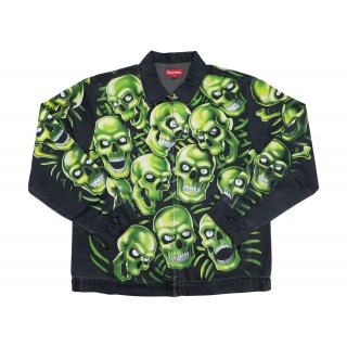 FW18 Supreme Skull Pile Work Jacket Multi