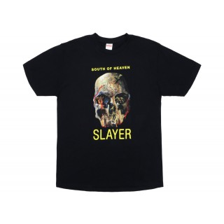 FW18 Supreme Slayer South of Heaven Tee Black