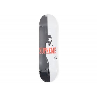 FW18 Supreme Scarface Split Skateboard Deck Multi