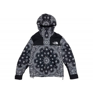 FW18 Supreme The North Face Bandana Mountain Jacket Black