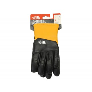 FW18 Supreme The North Face Leather Gloves Yellow