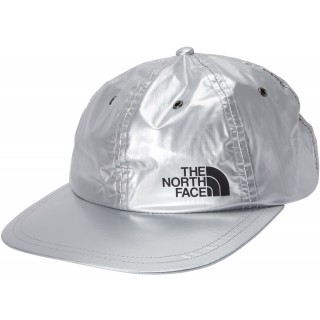FW18 Supreme The North Face Metallic 6-Panel Silver