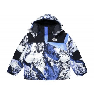 FW18 Supreme The North Face Mountain Baltoro Jacket Blue/White