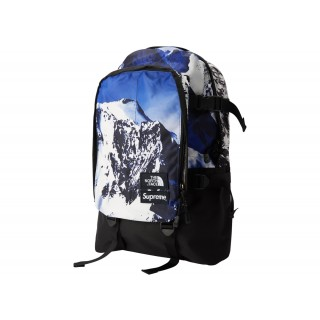 FW18 Supreme The North Face Mountain Expedition Backpack Blue/White