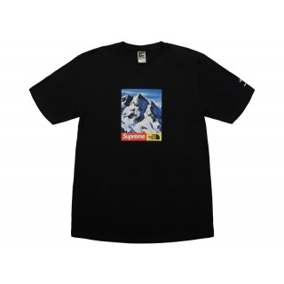 FW18 Supreme The North Face Mountain Tee Black