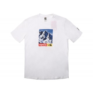 FW18 Supreme The North Face Mountain Tee White