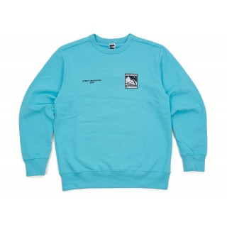 FW18 Supreme The North Face Steep Tech Crewneck Lht Blue