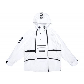 FW18 Supreme The North Face Steep Tech Hooded Jacket White