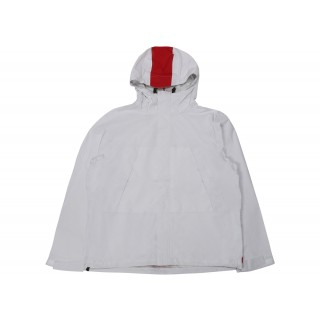 FW18 Supreme Taped Seam Jacket (SS18) White