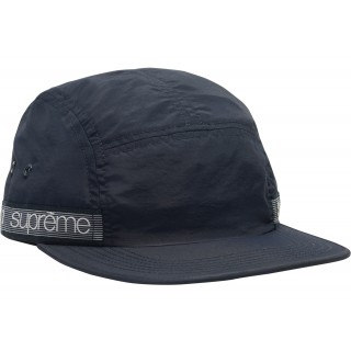 FW18 Supreme Tonal Taping Camp Cap Navy