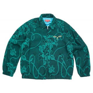 FW18 Supreme Truth Tour Jacket Teal