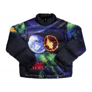 FW18 Supreme UNDERCOVER/Public Enemy Puffy Jacket Multi