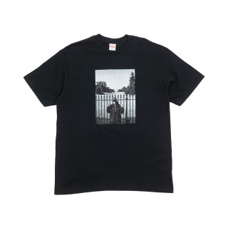 FW18 Supreme UNDERCOVER/Public Enemy White House Tee Black