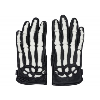 FW18 Supreme Vanson Leather X-Ray Gloves Black