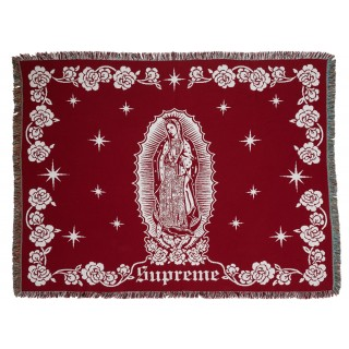 FW18 Supreme Virgin Mary Blanket Red
