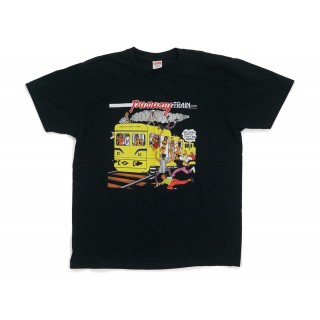 FW18 Supreme Wilfred Limonius Punany Train Tee Black