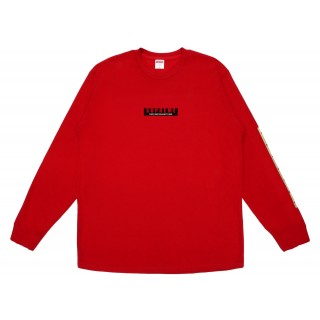 FW18 Supreme 1994 LS Tee Red