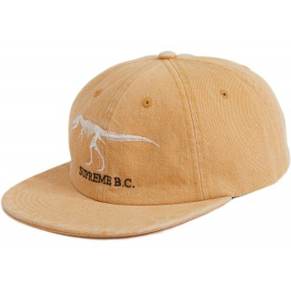 FW18 Supreme B.C. 6-Panel Hat Gold