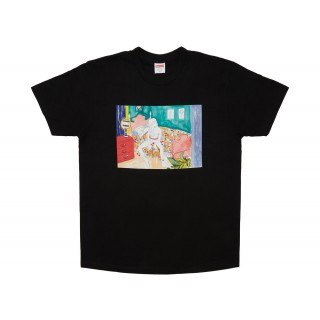 FW18 Supreme Bedroom Tee Black