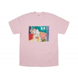 FW18 Supreme Bedroom Tee Light Pink