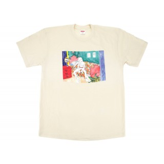FW18 Supreme Bedroom Tee Natural
